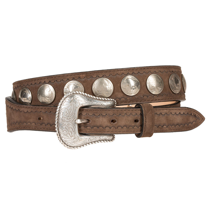 Wrangler Men's Nickel Ranger Belt