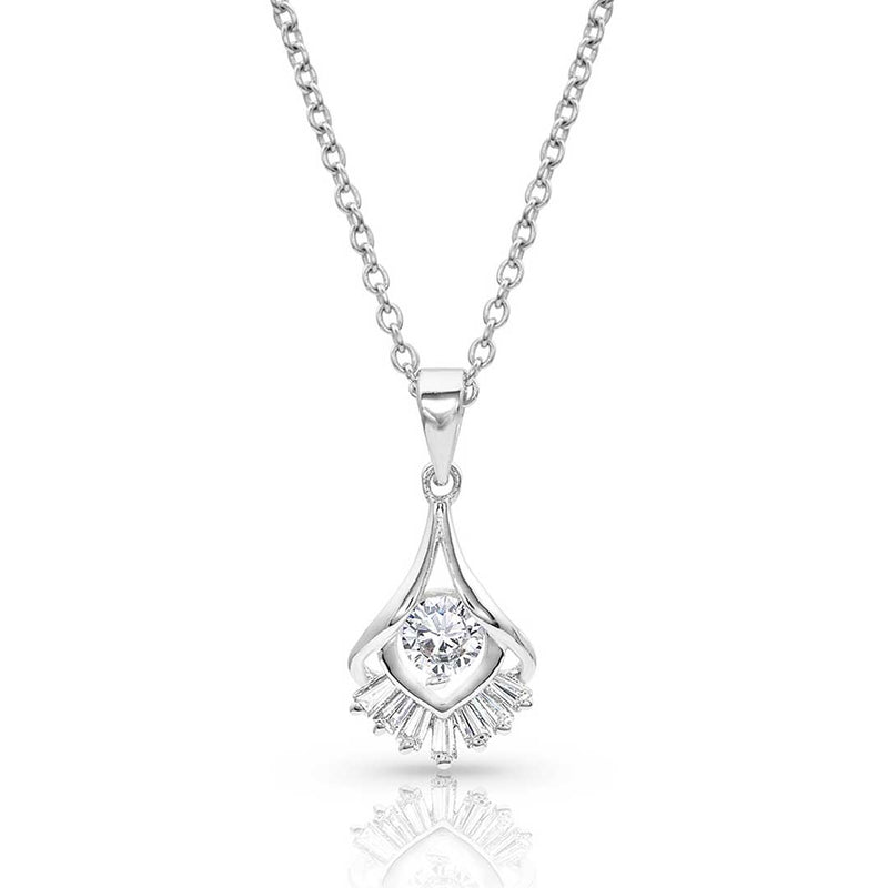 Montana Silversmiths Star Burst Drop Necklace