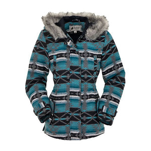 Outback Trading Co. Myra Aztec Print Womens Jacket