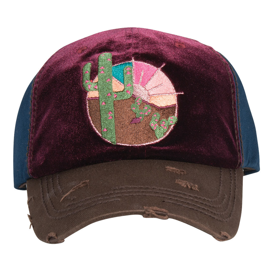 Catchfly Cactus Patch Ball Cap