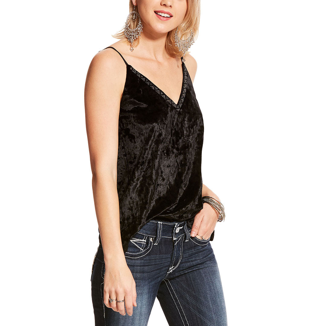 Ariat Cosmo Womens Black Tank