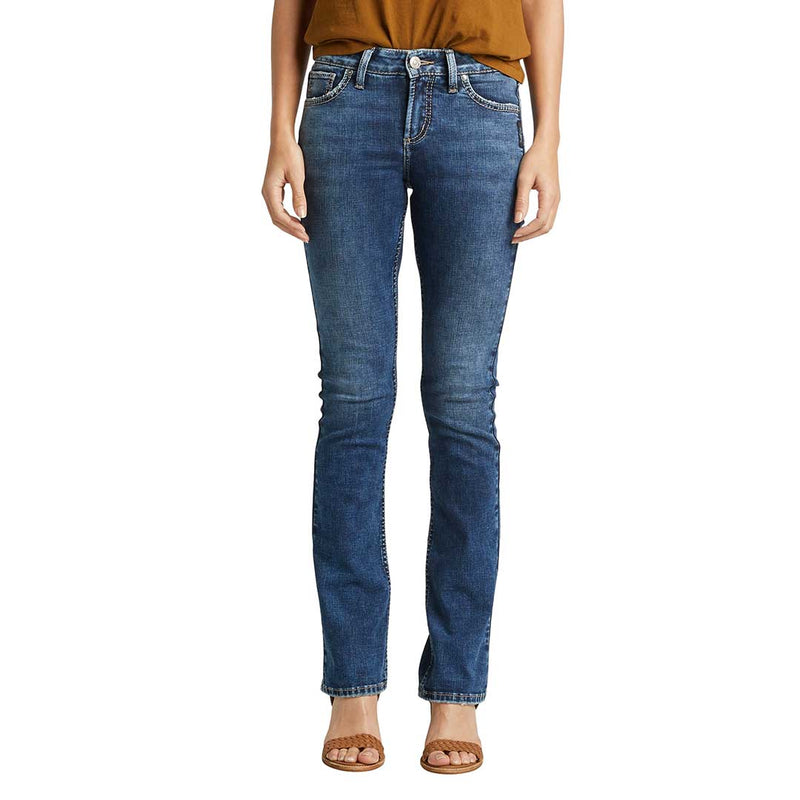 Silver Jeans Women's Avery High Rise Slim Bootcut Jeans