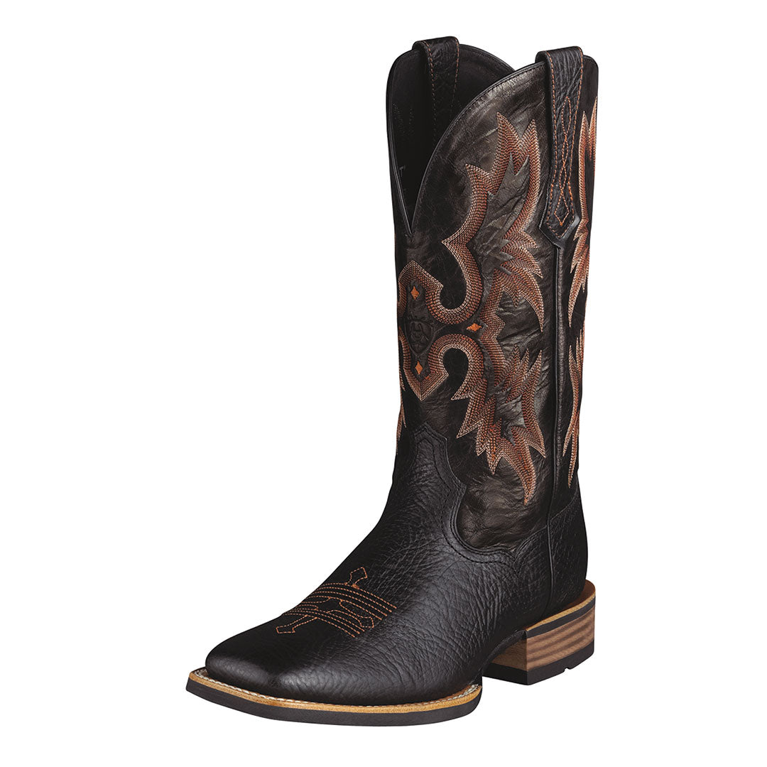 Ariat Tombstone Black Cowboy Boots