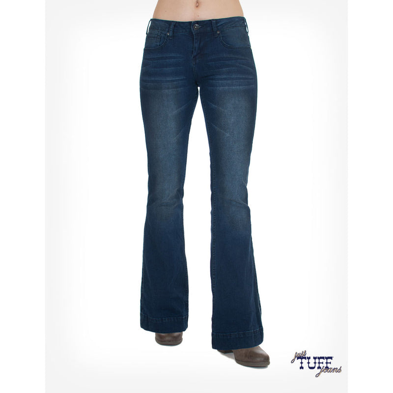 Cowgirl Tuff Stretch Denim Trouser