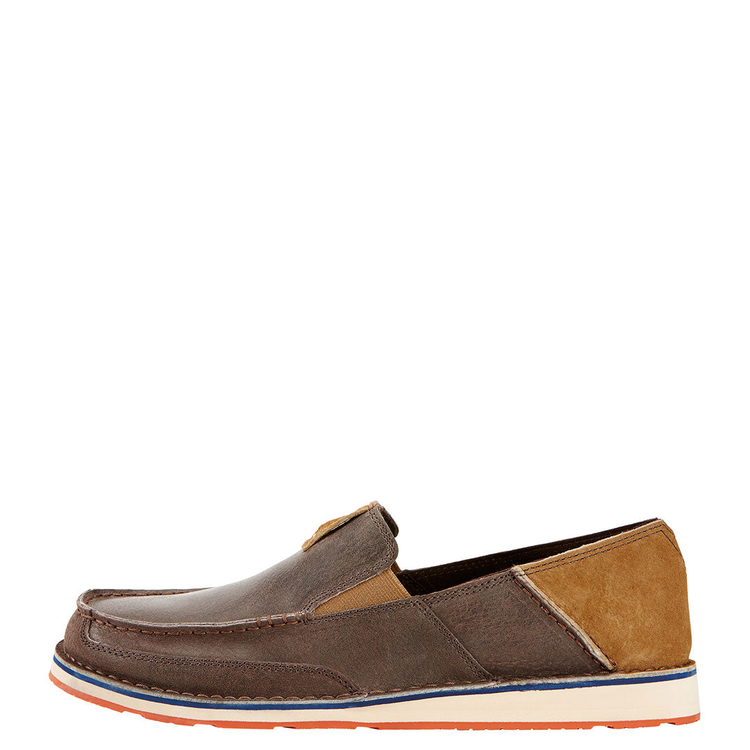 Ariat Cruiser Earth Brown Moc Toe Slip-On Shoe