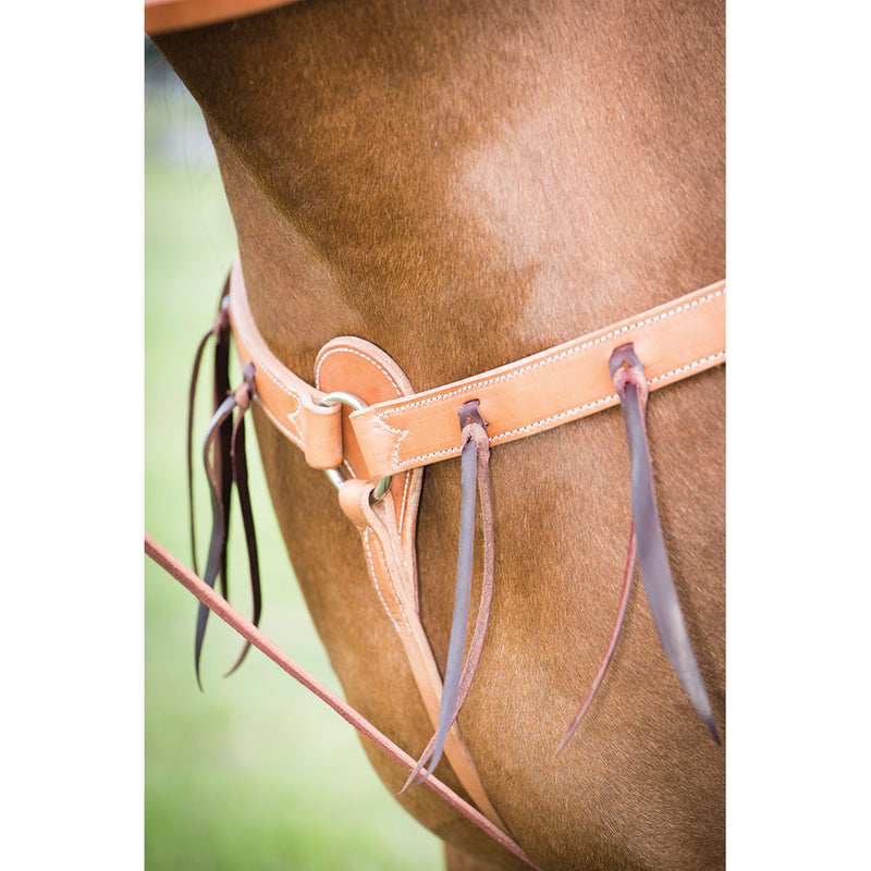 Wildfire Saddlery Harness Leather Breast Collar