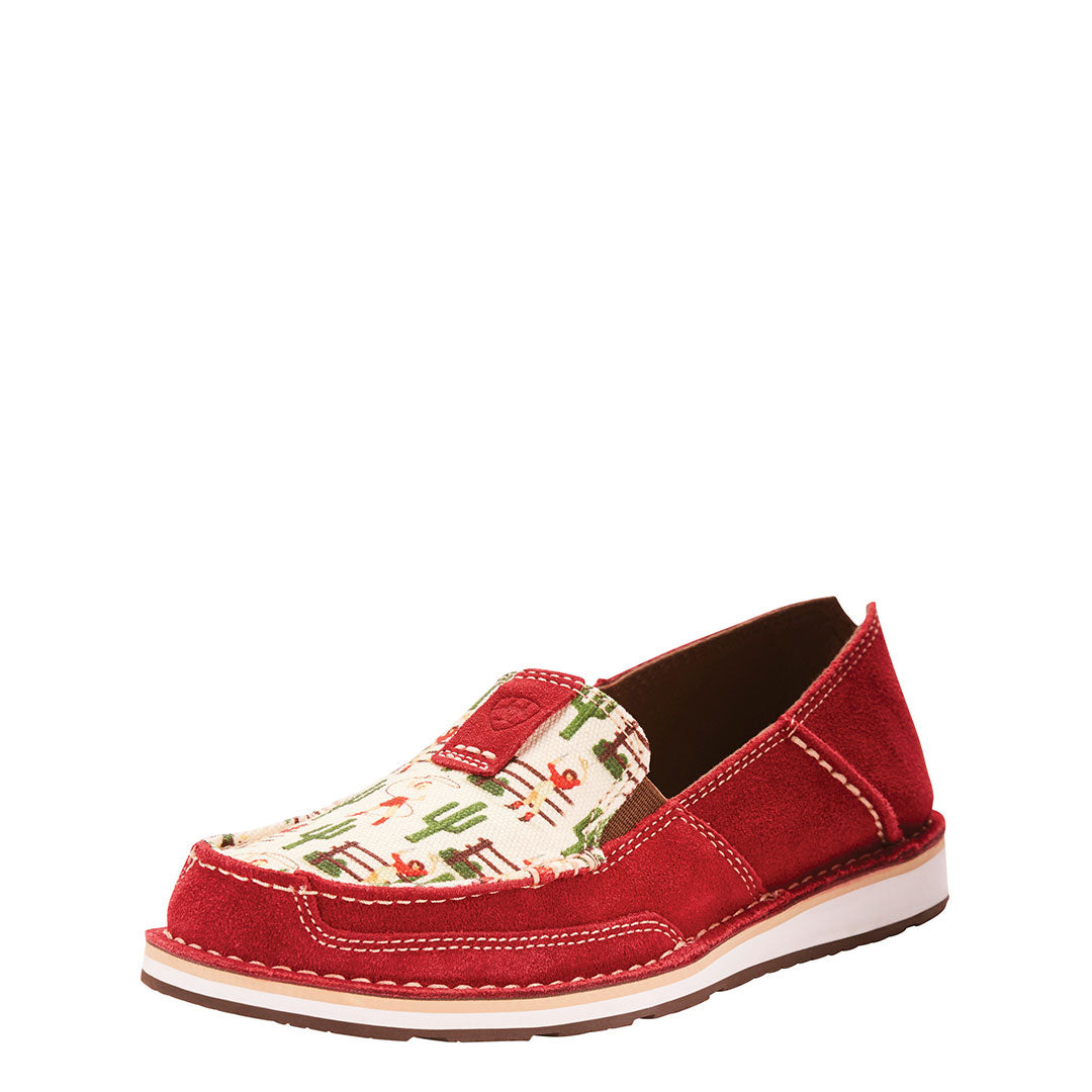 Ariat Cruiser Cranberry Cactus Womens Shoe