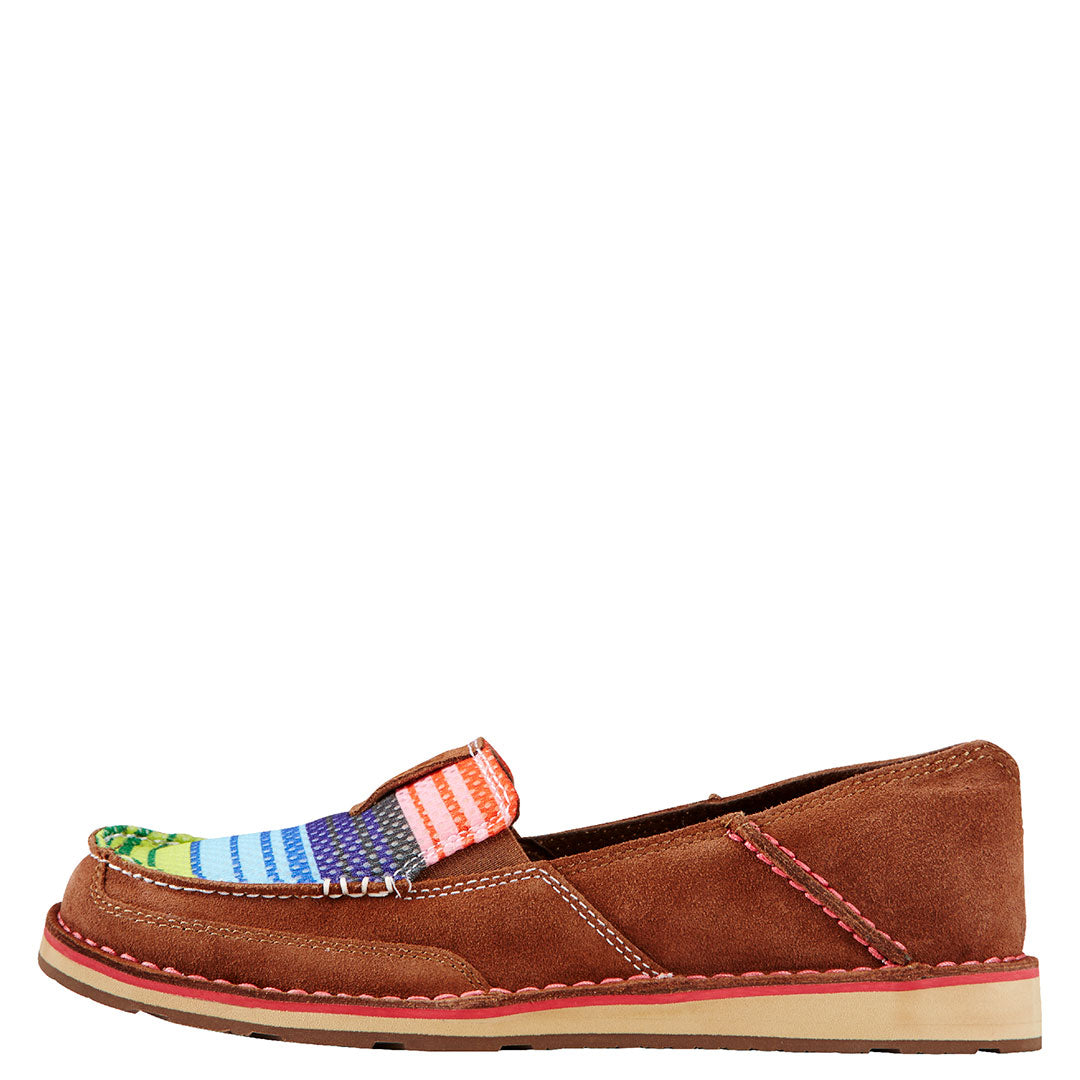 Ariat Cruiser Brown Serape Womens Shoe