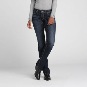 Silver Jeans Elyse Relaxed Slim Boot Cut Jeans