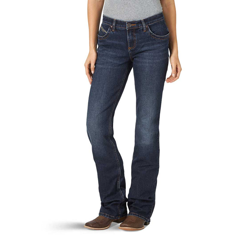 Wrangler Women's Ultimate Riding Q-Baby Bootcut Jeans