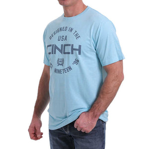 Cinch Men's Crew Neck Logo T-Shirt