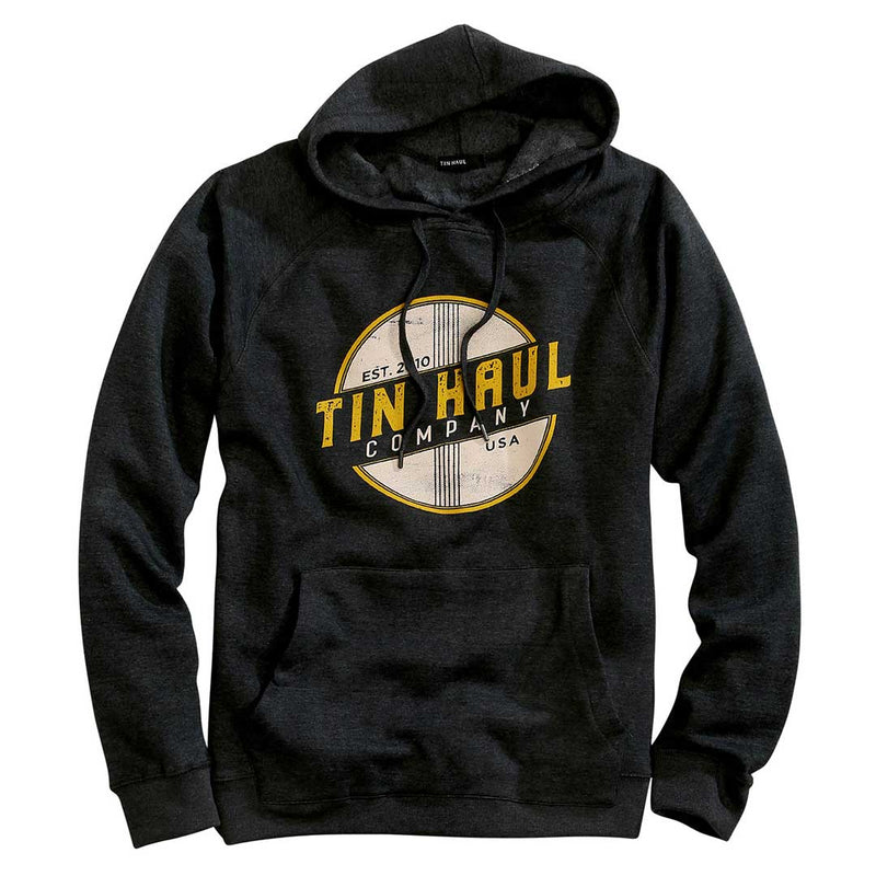 Tin Haul Men's Retro Graphic Logo Hoodie