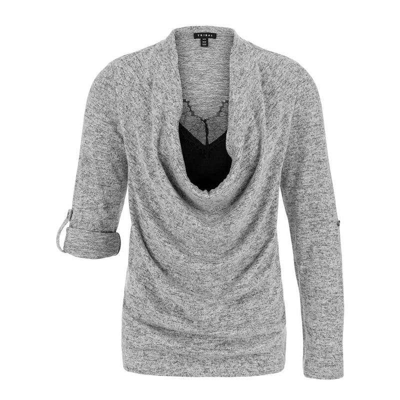 Tribal Women's Fooler Cami Sweater