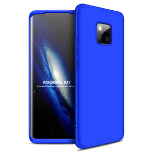 Creative Stitching Three-in-One Matte Phone Protective Case For Huawei Mate 20 20Pro 20Lite