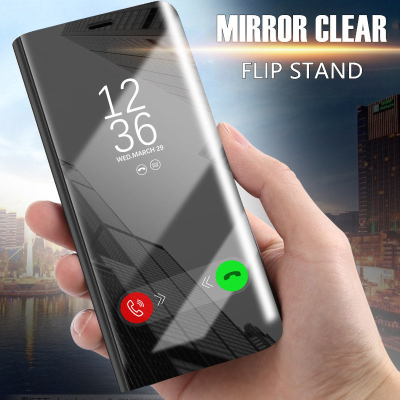 Smart View Flip Stand Phone Cover Protective Case For iPhone X 8 8 Plus 7 7 Plus 6sPlus 6s