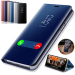 Smart View Flip Stand Phone Cover Protective Case For Huawei P20 P20Pro P20Lite Nova3i