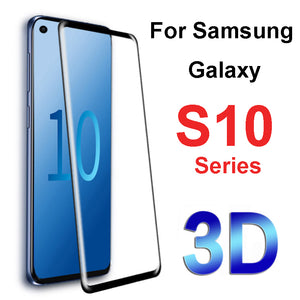 5D Curved Full Coverage Tempered Glass Screen Protector For Samsung S10 S10Plus S10E S9 S9Plus S8 S8Plus Note 8 S7Edge