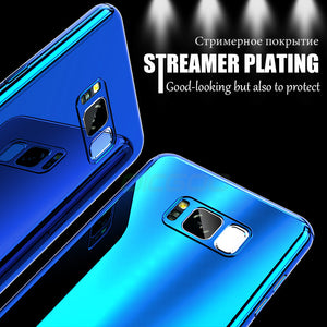 Luxury 360 Degree Plating Mirror Phone Case For Samsung Galaxy S8 S8 Plus Note 8