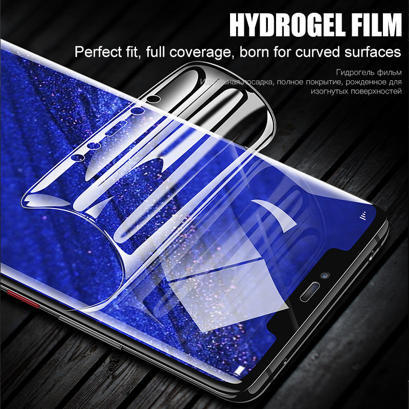 3D Curved Full Coverage Hydrogel Film Screen Protector For Samsung S10 S10E S10 Plus