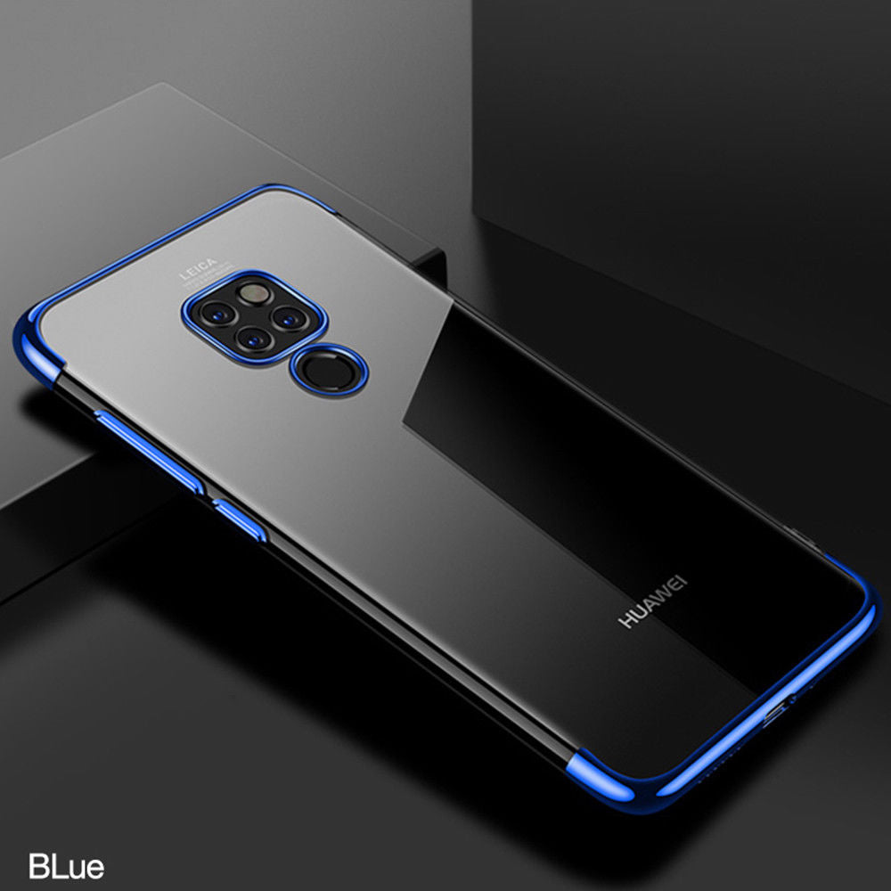 Shockproof Transparent Plating Hard PC Case For For Huawei Mate 20 20Pro 20X 20Lite