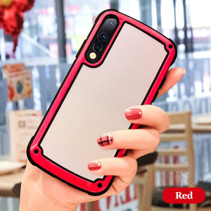 High Appearance Fashion Hard Silicone Airbag Drop Protection Full Coverage Case for Huawei Mate 20Pro P20 P20Pro P20Lite Nova 3i