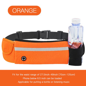 Multifunctional Outdoor Sports Waterproof Waist Bag for Running Cycling Walking