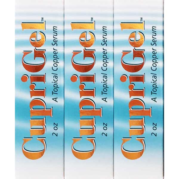 Cuprigel - 3 Pack