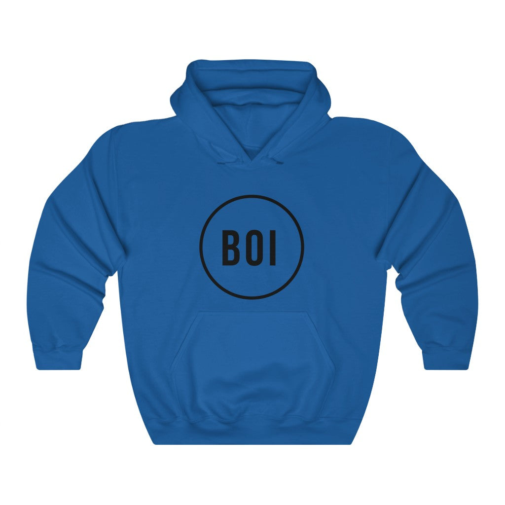 BOI Circle Heavy Blend™ Hooded Sweatshirt