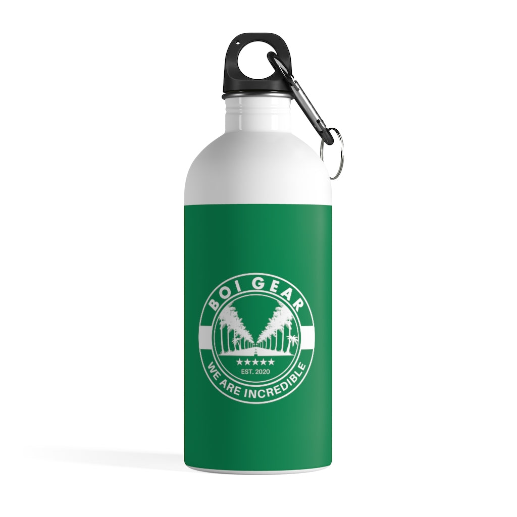 BOI Gear (Green)  - Stainless Steel Water Bottle