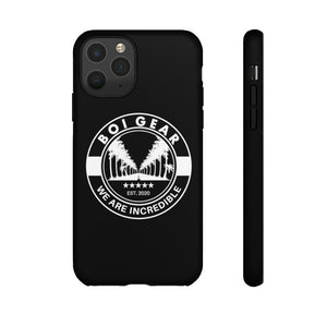 BOI Gear Tough Phone Case (Black)