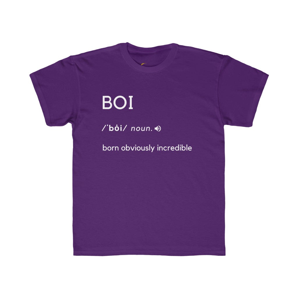 BOI Definition - Youth Regular Fit Tee