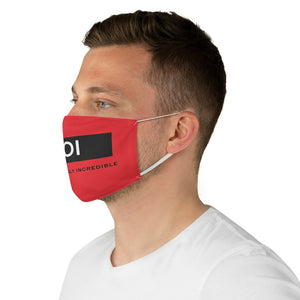 BOI Signature (Red)  Fabric Face Mask