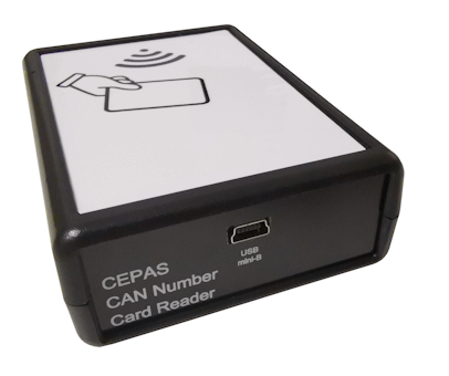 CAN Number Reader for CEPAS Card (USB, Desktop)