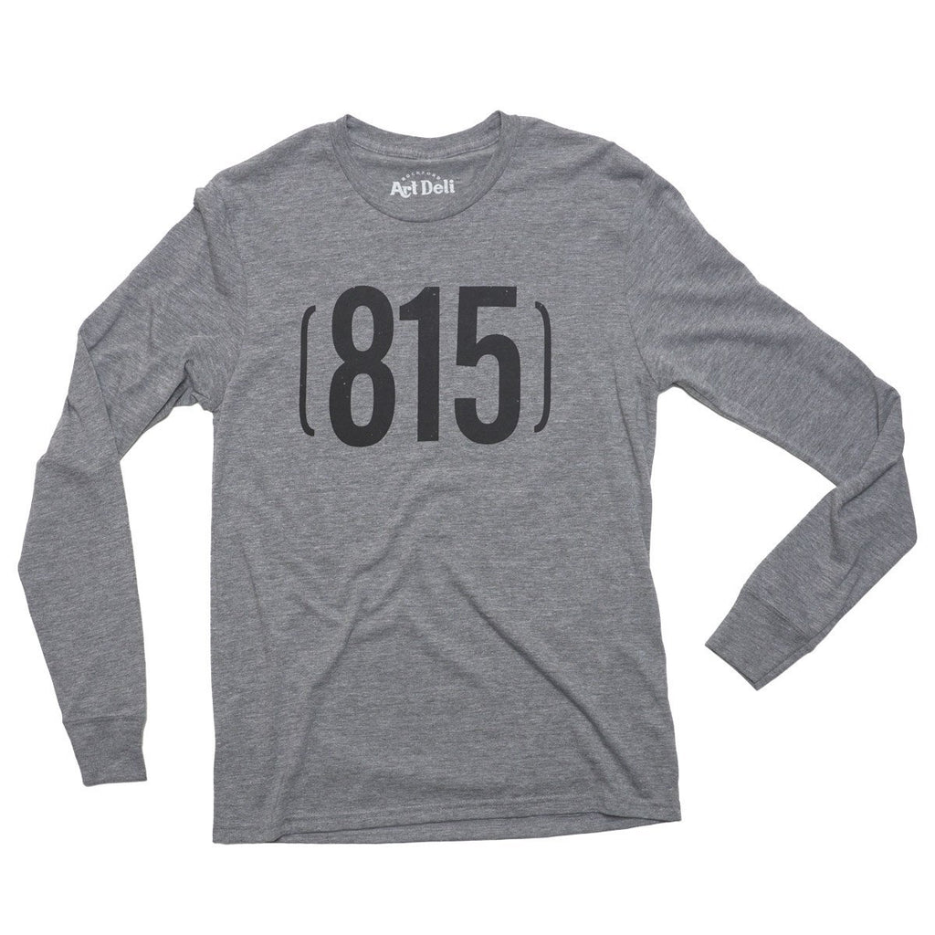 (815) Long Sleeve T-Shirt Long Sleeve Allmade