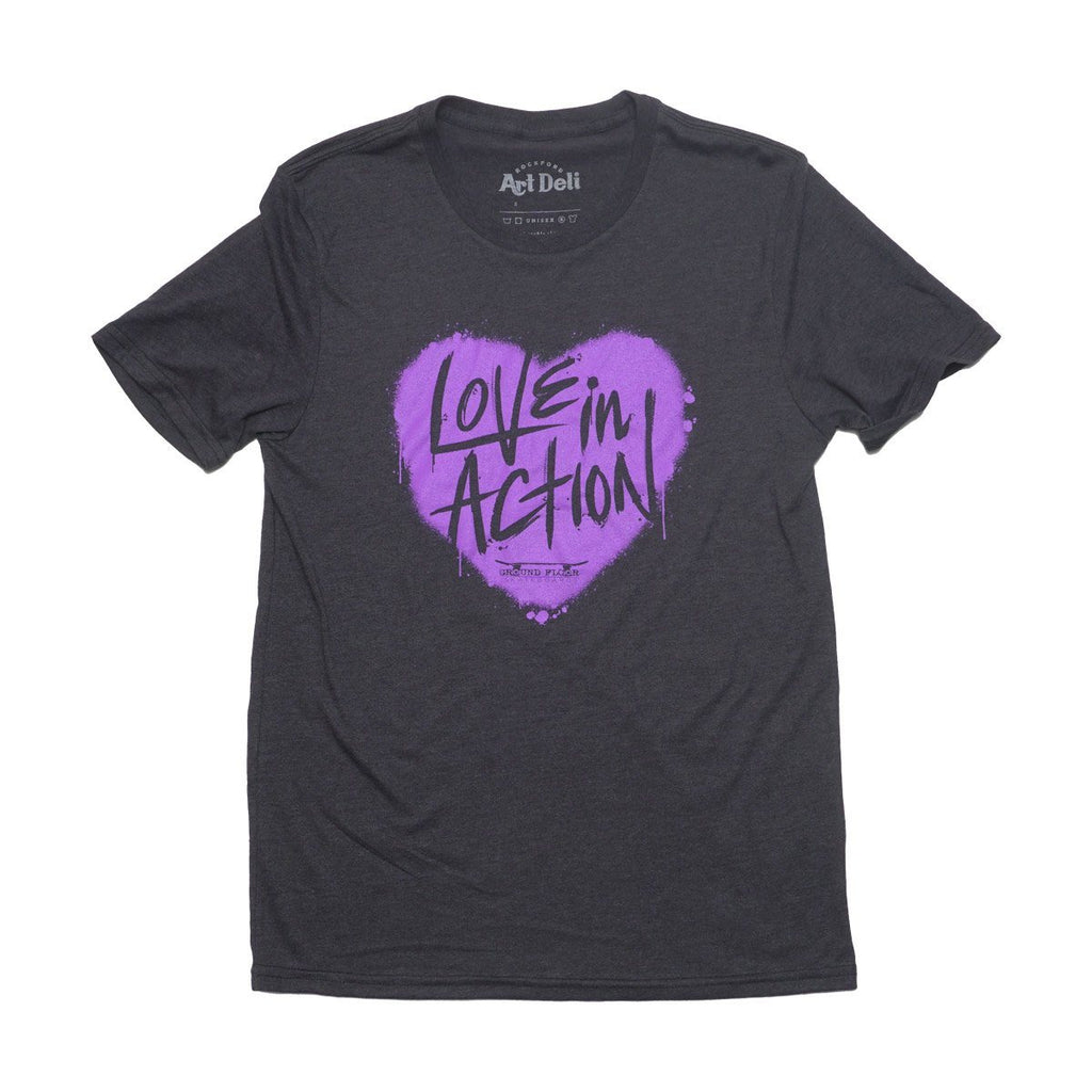 Love In Action T-shirt Allmade