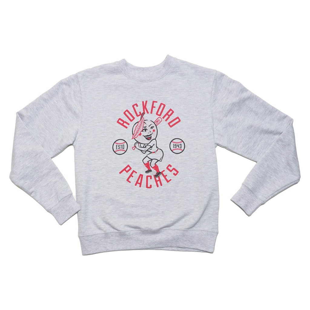 Peach Girl Crewneck Crewneck Sweatshirt Independent Trading