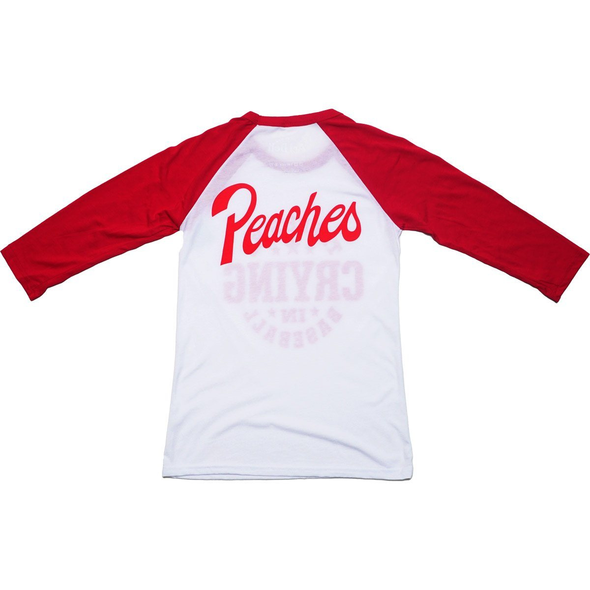 Peaches Baseball Tee T-shirt Bella + Canvas