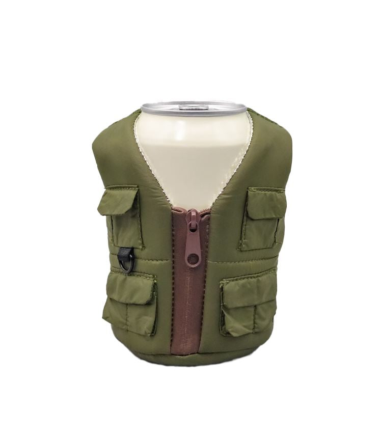 Puffin Beverage Adventure Vest accessory Puffin Ranger Green