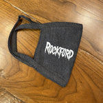 RAD Masks - Printed Mask Next Level Creepy Rockford Heather Grey