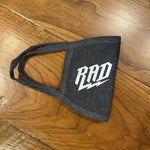 RAD Masks - Printed Mask Next Level RAD Heather Grey