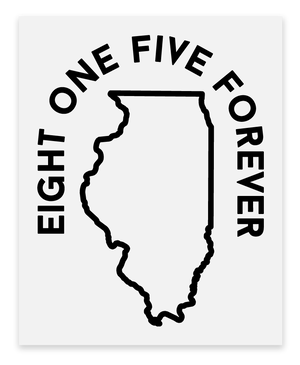 Stickers Sticker Sticker Mule Eight One Five Forever