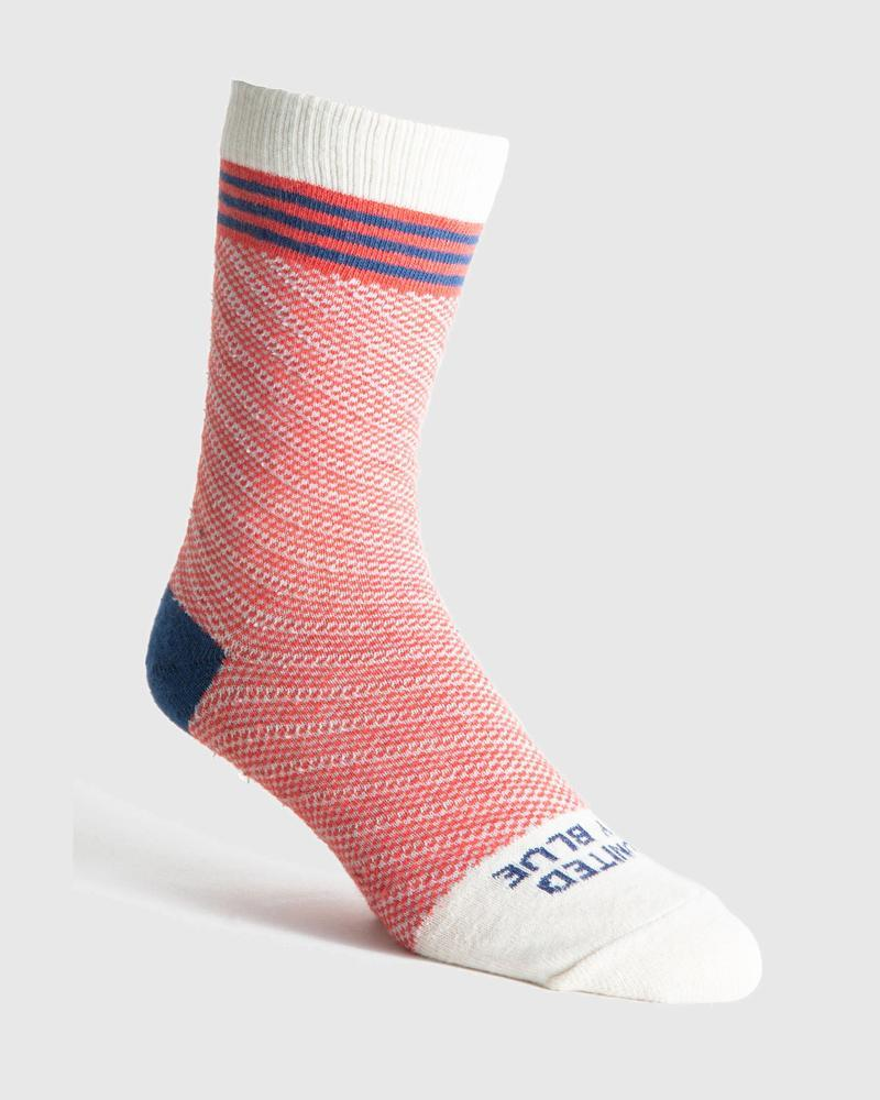 Tacony Hemp Sock United by Blue United by Blue Red / S S