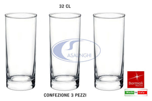 BICCHIERE CORTINA CONF. 3 PZ. CL.32 LONG DRINK