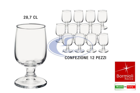 CALICE EXECUTIVE CONF. 12 PZ. CL.28,7 ACQUA BORMIOLI