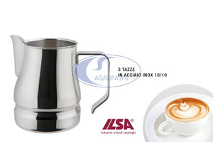 LATTIERA CAPPUCCINO INOX 18/10 SERIE EVOLUTION