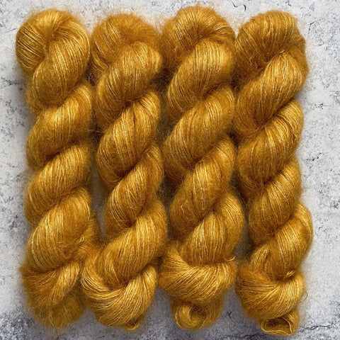 Butterscotch // Mohair Lace