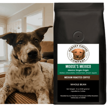 Load image into Gallery viewer, Moose's Mexico Organic (12 oz) - Harvey Coffee Company