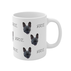 Personalized Dog Mug with Your Dog's Face and Name