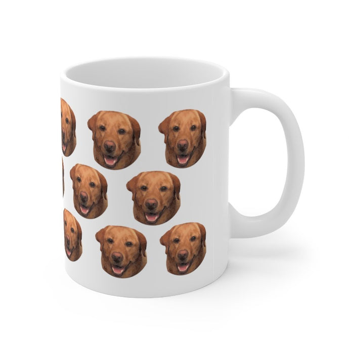 Personalized Dog Mug with Your Dog's Photo - Harvey Coffee Company