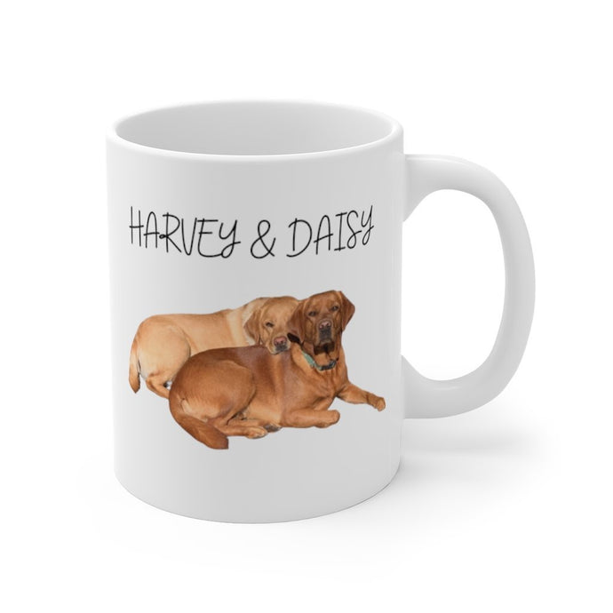 Personalized Dog Mug with Your Dog's Pic and Name - Harvey Coffee Company